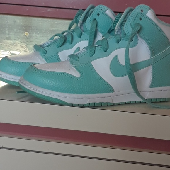 Nike Shoes   Light Blue And White S